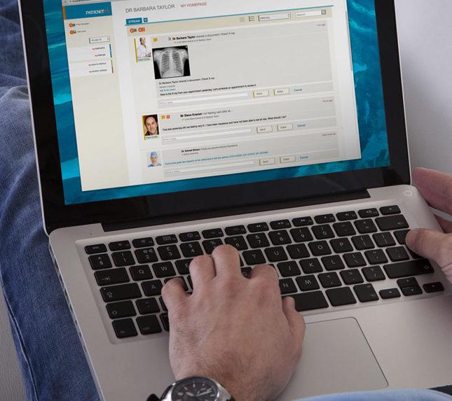 Medical Web Application UI