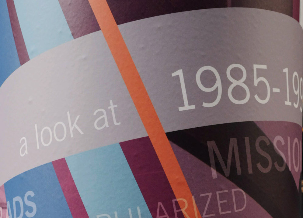 Interactive Anniversary Installation